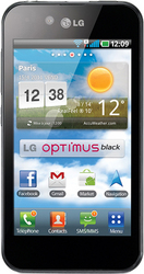 Фото LG P970 Optimus Black
