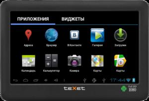 фото MP3-плеер TeXet T-990A 8GB