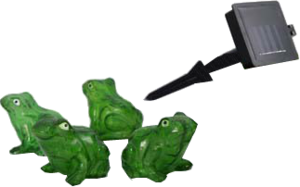 фото Необычный гаджет Садовый светильник СТАРТ САД 4LED Лягушки