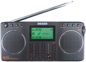 Фото радиоприемника Degen DE-1128