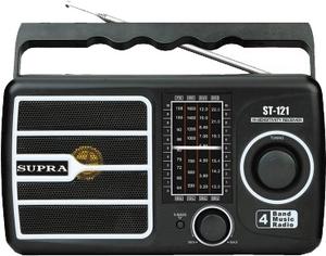 Фото радиоприемника Supra ST-121