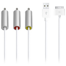 Мультимедийный аудио кабель для Apple iPhone 4 MC748 SotMarket.ru 2160.000