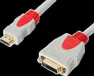 фото Переходник DeLink DVI-D-HDMI 0.3 м