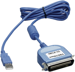 фото Кабель USB 2 AM-LPT TRENDnet TU-P1284 2 м