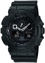 Фото мужских LED-часов Casio G-Shock GA-100-1A1