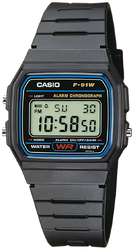 Фото мужских часов Casio Collection F-91W-1Q
