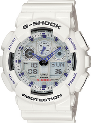 Фото мужских LED-часов Casio G-Shock GA-100A-7A