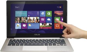 Фото сенсорного ноутбука Asus VivoBook X202E 90NFQA424W13125813AU