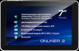 Фото планшета Explay Onliner2