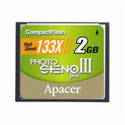 Фото флеш-карты Apacer CF 2GB 133X