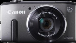 фото Цифровой фотоаппарат Canon PowerShot SX270 HS