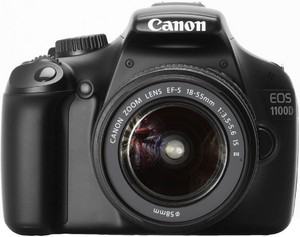 фото Цифровой фотоаппарат Canon EOS 1100D Kit 18-55 DC