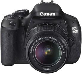 фото Цифровой фотоаппарат Canon EOS 600D Kit 18-55 IS II