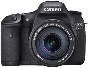 фото Цифровой фотоаппарат Canon EOS 7D Kit 18-135