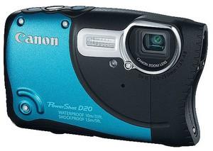 фото Цифровой фотоаппарат Canon PowerShot D20