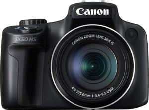 фото Цифровой фотоаппарат Canon PowerShot SX50 HS