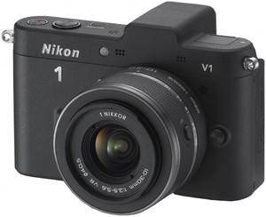 фото Цифровой фотоаппарат Nikon 1 V1 Kit 10-30 VR