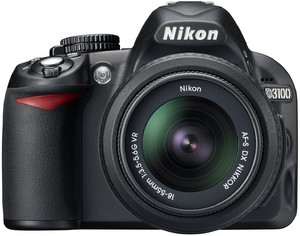 Фото Nikon D3100 Kit 18-55 VR чёрный
