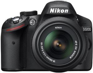 Фото Nikon D3200 Kit 18-55 VR чёрный