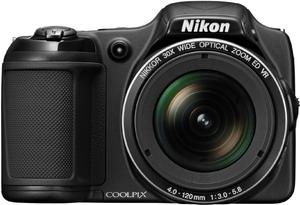 фото Цифровой фотоаппарат Nikon Coolpix L820