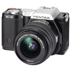 фото Цифровой фотоаппарат Pentax K-01 Kit DA L 18-55, DA L 50-200
