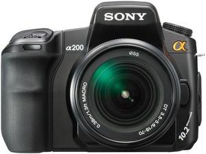 Фото Sony Alpha DSLR-A200H Kit