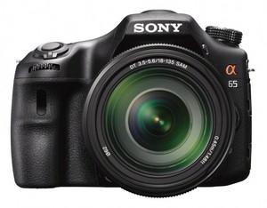 фото Цифровой фотоаппарат Sony Alpha SLT-A65 Kit 18-135