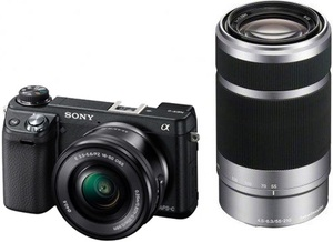 фото Цифровой фотоаппарат Sony Alpha NEX-6 Kit 16-50, 50-210