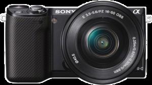 фото Цифровой фотоаппарат Sony Alpha NEX-5RY Kit 16-50, 55-210