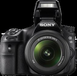 фото Цифровой фотоаппарат Sony Alpha SLT-A58 Kit 18-55, 55-200