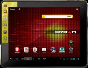 фото Планшетный компьютер Crown B900