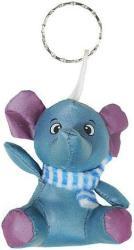 фото Брелок Экспетро Слоник с голубым шарфом C047
