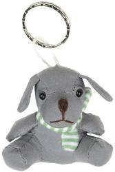 фото Брелок Экспетро Собака с зеленым шарфом C042