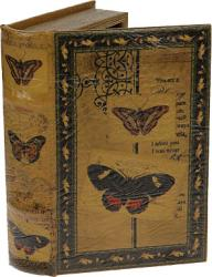 Фото шкатулка Русские подарки Бабочки 184119
