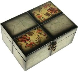 Фото шкатулка Русские подарки Сундучок 34673