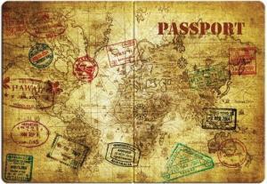 Фото чехла для паспорта Эврика N14 Карта