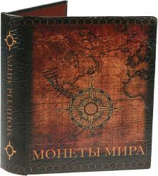 фото Альбом для монет Русские подарки Карта мира 184211