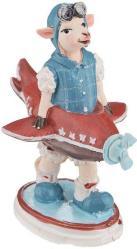 фото Декоративная фигурка Феникс Овечка и игрушечный самолет 34550/4