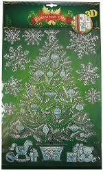 фото Наклейка Русские подарки Новогодняя 70714