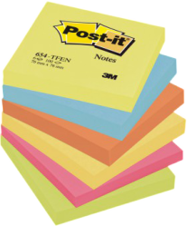 Post-it renkli notlar