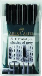 Набор ручек Faber Castell Pitt Artist Pen Brush 167104