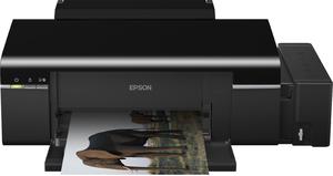 Фото принтера Epson L800 с СНПЧ