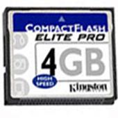 Фото флеш-карты Kingston CF 4GB
