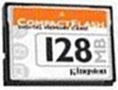 Фото флеш-карты Kingston CF 128MB