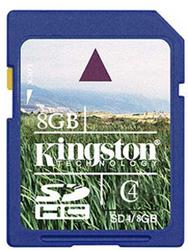 фото Карта памяти Карта памяти Kingston SD SDHC 8GB Class 4
