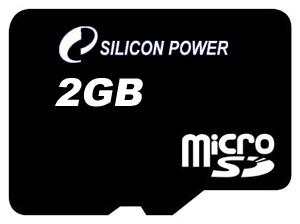 фото Карта памяти Карта памяти Silicon Power MicroSD 2GB