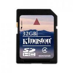 фото Карта памяти Карта памяти Kingston SD SDHC 32GB Class 4 SD4