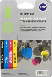 фото Комплект картриджей для Epson Stylus SX125 CACTUS CS-EPT1285