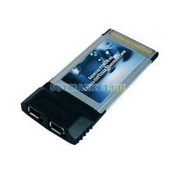 Фото адаптера PCMCIA на 2 порта IEEE 1394 Rovermate Carie