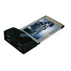 Фото адаптера PCMCIA на 4 USB 2.0 порта Rovermate Carus